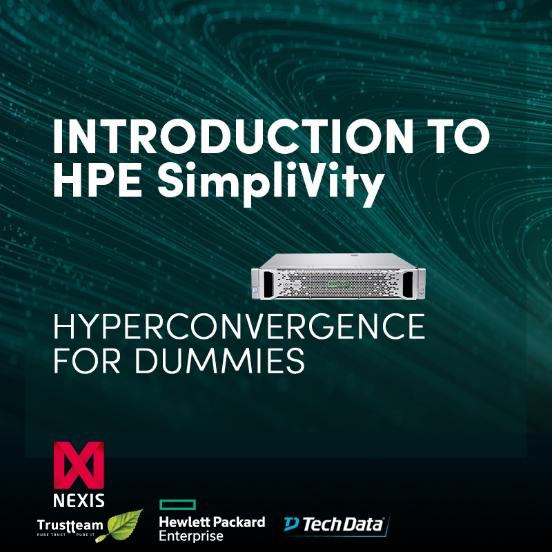 Hyperconvergence with HPE SimpliVity