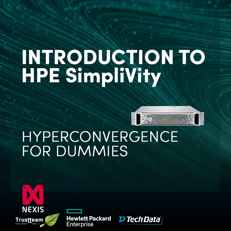 2 Webinar sessies : Hyperconvergence with HPE SimpliVity