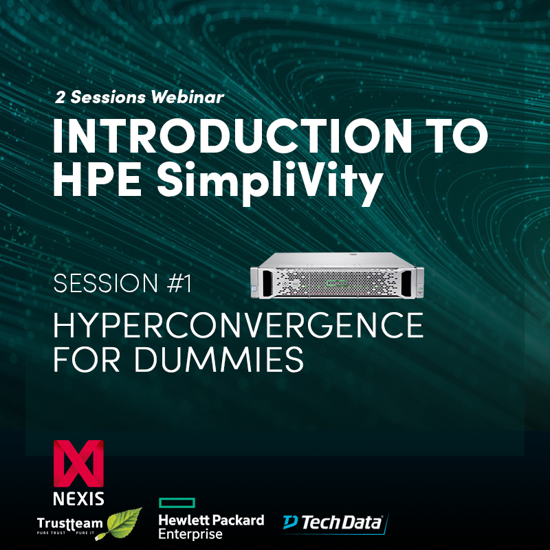 Hyperconvergence for dummies