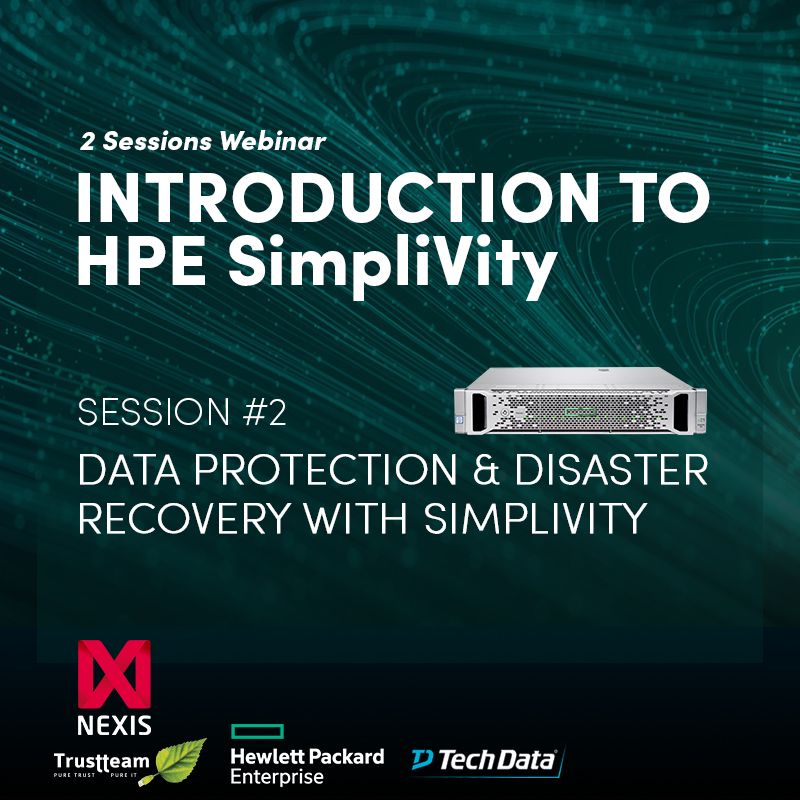 Data Protection & Disaster Recovery with Simplivity